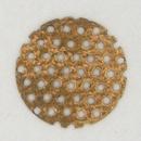 M72 Round sieve (1950s) 1.6cm Brass