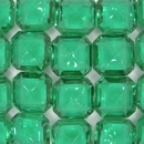 Cab43 - 16mm square cabochon in Green