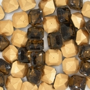 10mm Brown Square Cabochon (Vintage) Cab15
