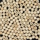 50 x 4mm round beads in Chalk White