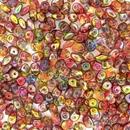 10g Superduo beads in Magic Apple
