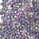 50 x 4mm faceted Magic Purple beads