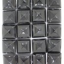 Cab47 - 14mm square cabochon in Black (Vintage)