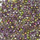 50 x 3mm faceted beads in Magic Orchid