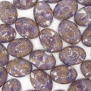 18 x 13mm Purple Matrix Cabochon (Vintage) Cab28