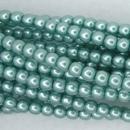50 x 2mm pearls in Celeste