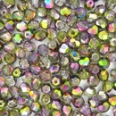 50 x 6mm faceted Magic Orchid beads