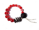 Exclusive Macramé tutorial with Red, Black and Gunmetal kit