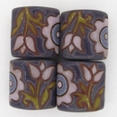 CPB-008-J-XL - Golem Studio pillow bead in Orchid and Purple old lace