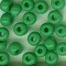 5g x 4mm Green seed beads (1950s)