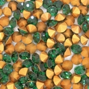 SS30 x 6.5mm Chaton in Emerald (Vintage Swarovski)