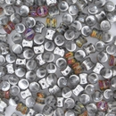 50 x Crystal Volcano Pellet beads