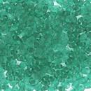 10g Superduo beads in Matt Emerald