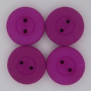 16mm Neon Purple glass button