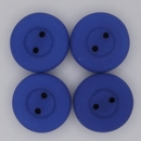 16mm Neon Dark Blue glass button