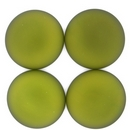 24mm Luna Soft Cabochon in Olivine Green