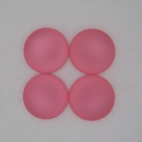 18mm Luna Soft Cabochon in Salmon Pink