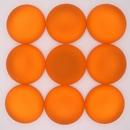 18mm Luna Soft Cabochon in Orange
