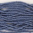 1 string of Size 11 Royal Blue Lustre Czech charlottes