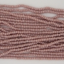 1 string of Size 13/0 Czech charlottes in Dusky Pink Lustre