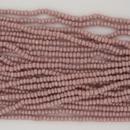 1 string of Size 13 Dusky Pink Lustre Czech charlottes