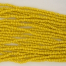 1 string of Size 13/0 Czech charlottes in Yellow Lustre