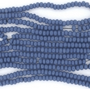 1 string of Size 11 Royal Blue Czech charlottes