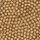 50 x 4mm faceted Aztec Gold beads