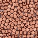 50 x Vintage Copper Pellet beads