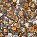 25 x Magic Copper Flower cups (7x5mm)