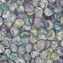 8x7mm Silver Rainbow petals
