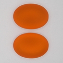 25x18mm Luna Soft Oval Cabochon in Orange