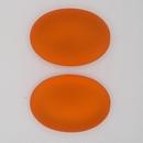 25x18mm Luna Soft Cabochon in Orange
