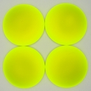 24mm Luna Soft Cabochon in Fluorescent Yellow