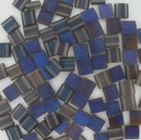 Matt Crystal Azuro Tila Beads