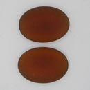 25x18mm Luna Soft Oval Cabochon in Copper