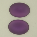25x18mm Luna Soft Oval Cabochon in Amethyst