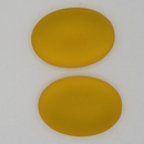 25x18mm Luna Soft Oval Cabochon in Sunflower