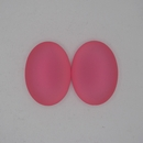 25x18mm Luna Soft Cabochon in Salmon Pink