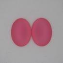 25x18mm Luna Soft Oval Cabochon in Rose