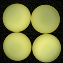 24mm Luna Soft Cabochon in Jonquil Yellow