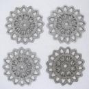 M02 - 2.5cm filigree disc in Silver (1950s)