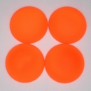 24mm Luna Soft Cabochon in Fluorescent Orange