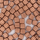 20 x  Copper 6mm Czech Tiles