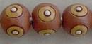 CSB-20-E Brown round bead