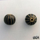 CSB-07-C Black melon bead