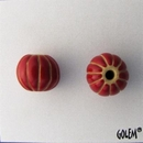 CSB-07-B Red melon bead
