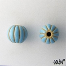 CSB-07-A Blue melon bead