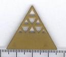 M36 - 3.2cm triangle in Brass (1950s)