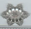 M40 - 5.5x4.2cm filigree oval in Silver (1950s)